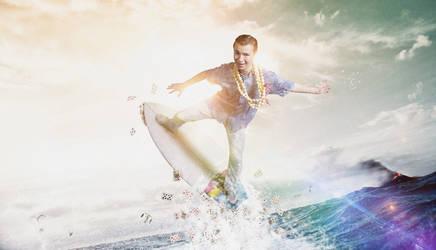 Surfer Magician