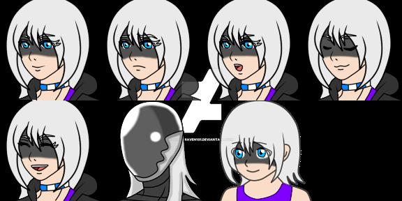 Duana face by BlackRaven101