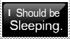 Should Be Sleeping by Stampernaut