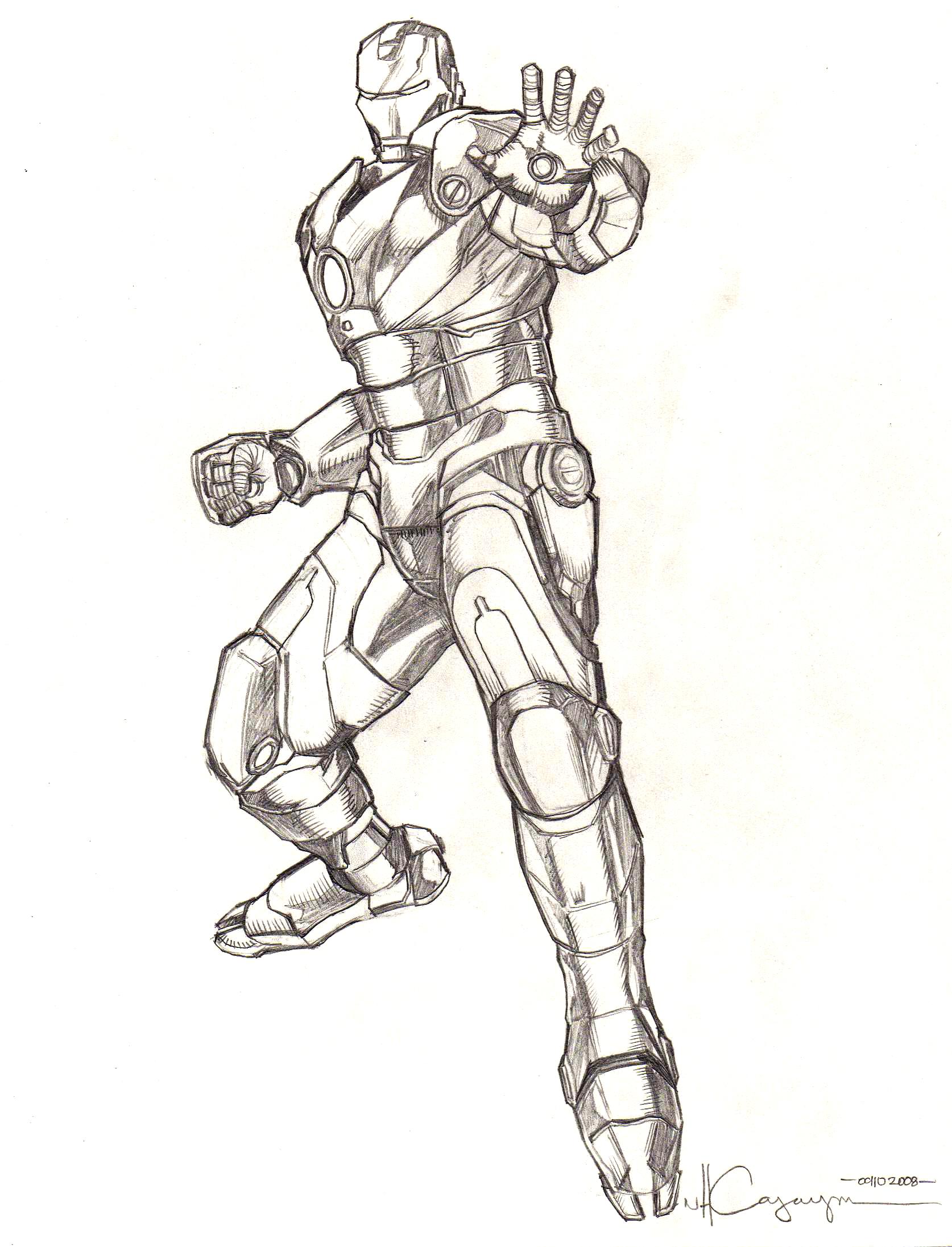 Iron Man Comic Drawing Iron Man Mark 2 Drawing Iron Man Pencil Drawings