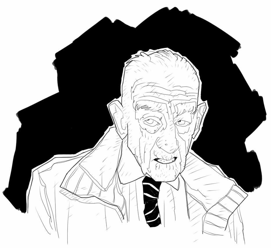 Old man by kartinka75