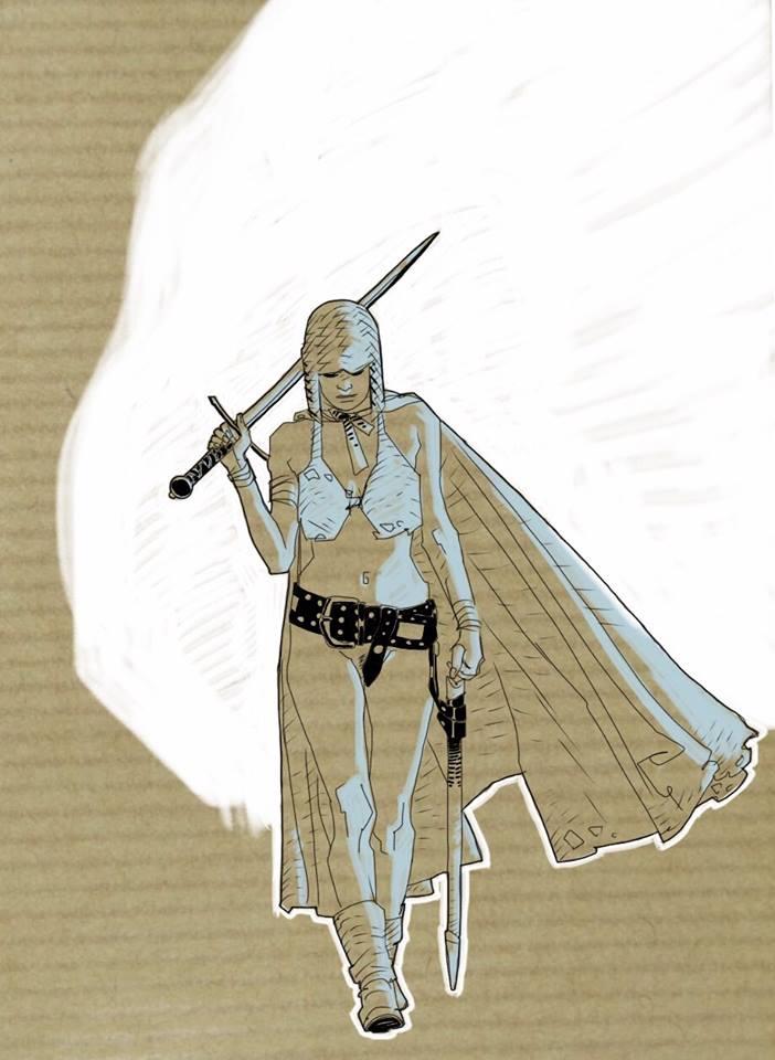 warrior woman by kartinka75