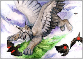 SkyPlay: Watercolor by daanzi