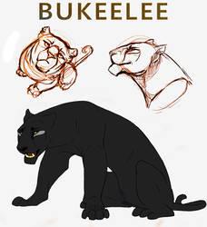 Bukeelee Reference Sheet by daanzi