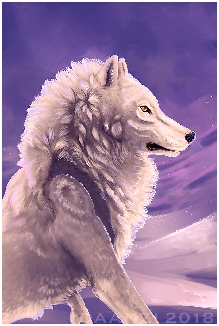 Arctic Werewolf by daanzi