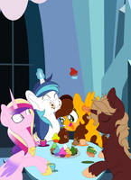 Breakfast at the Crystal Empire by Selyte