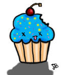 dead cupcake