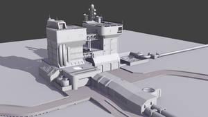 Sci-fi Refinery