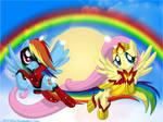 Flying Wonders by FlutterDash75
