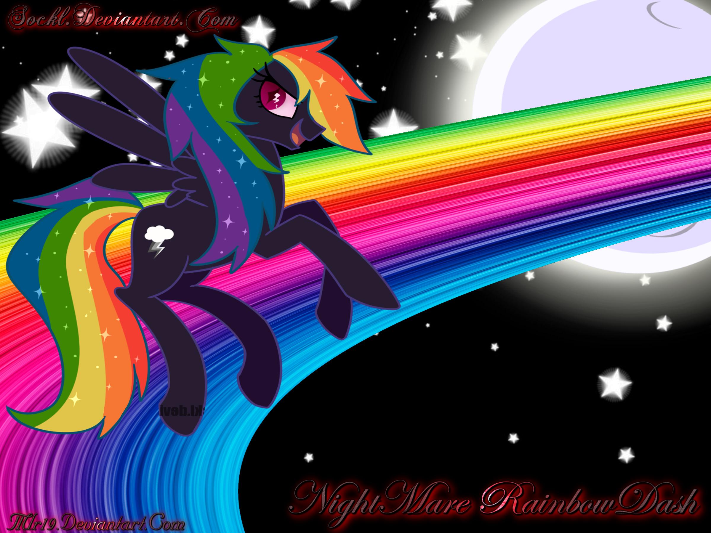 NightMare Rainbow Dash by MLR19 on DeviantArt
