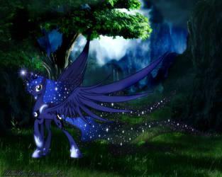 Fantasy Luna by FlutterDash75