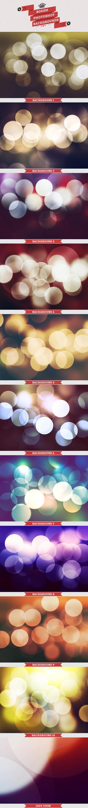 Bokeh Backgrounds by Base-Help