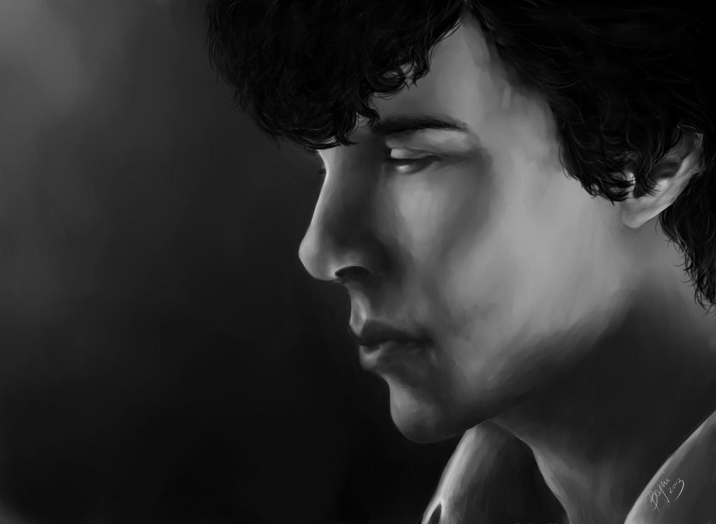 Sherlock Holmes by Bajni