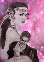 Padme Amidala by JabberjayArt