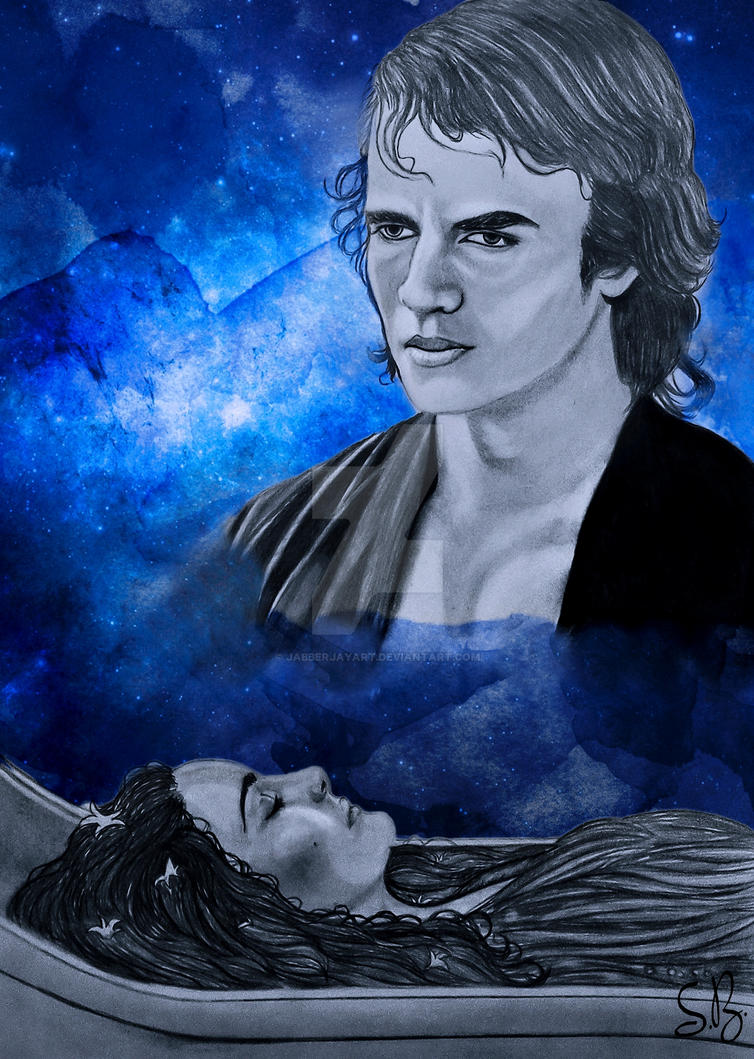Anakin Skywalker/Darth Vader by JabberjayArt