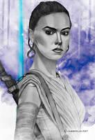 Rey by JabberjayArt