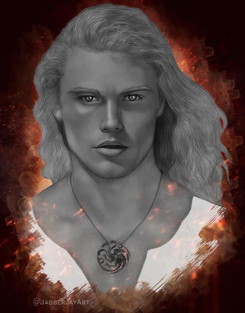 Rhaegar Targaryen by JabberjayArt