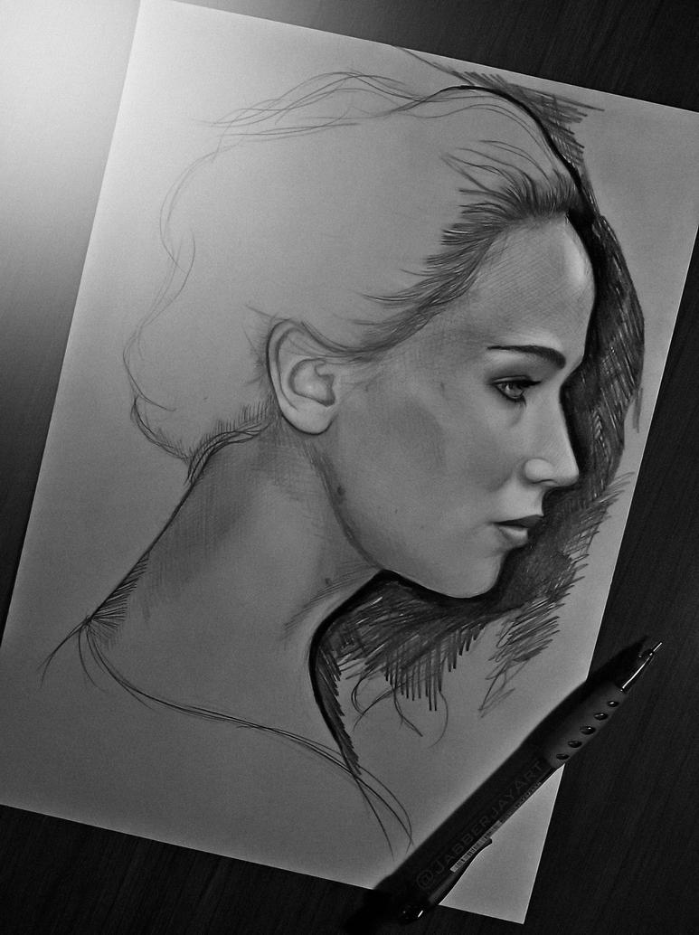 Jennifer by JabberjayArt