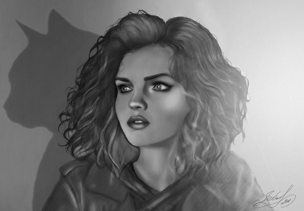 Selina Kyle by JabberjayArt