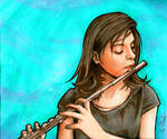 Tranquility of the Flutist