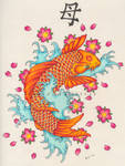 The Birthday Koi Fish