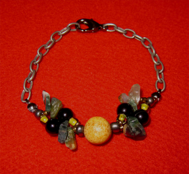 Gemini Bracelet by BloodRed-Orchid
