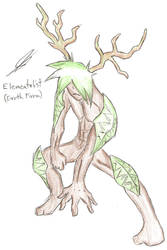 Elementalist Male Earth Form by haimerejloh