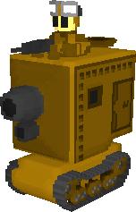 Yellow Comet Medium Tank by haimerejloh