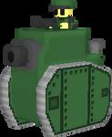 Green Earth Medium Tank