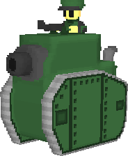 Green Earth Medium Tank by haimerejloh