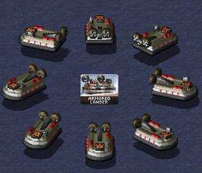 Soviet Armored Lander by haimerejloh