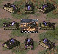 Yuri Scarab Light Tank