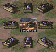 Yuri Scarab Light Tank by haimerejloh