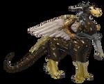 Dragontaur present