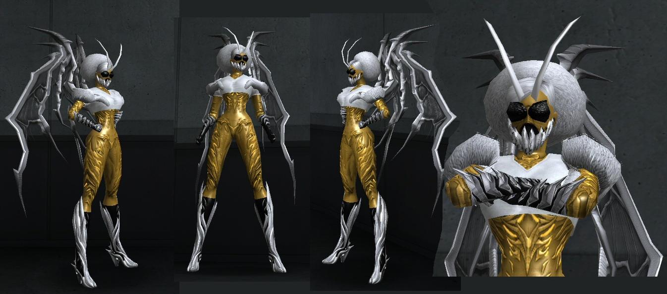 Estigmene Moth Lady by lethe-gray