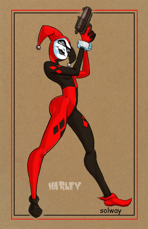 Harley Quinn by Kravenous