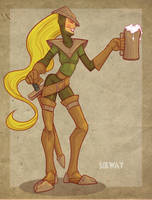 Beer Knight by Kravenous