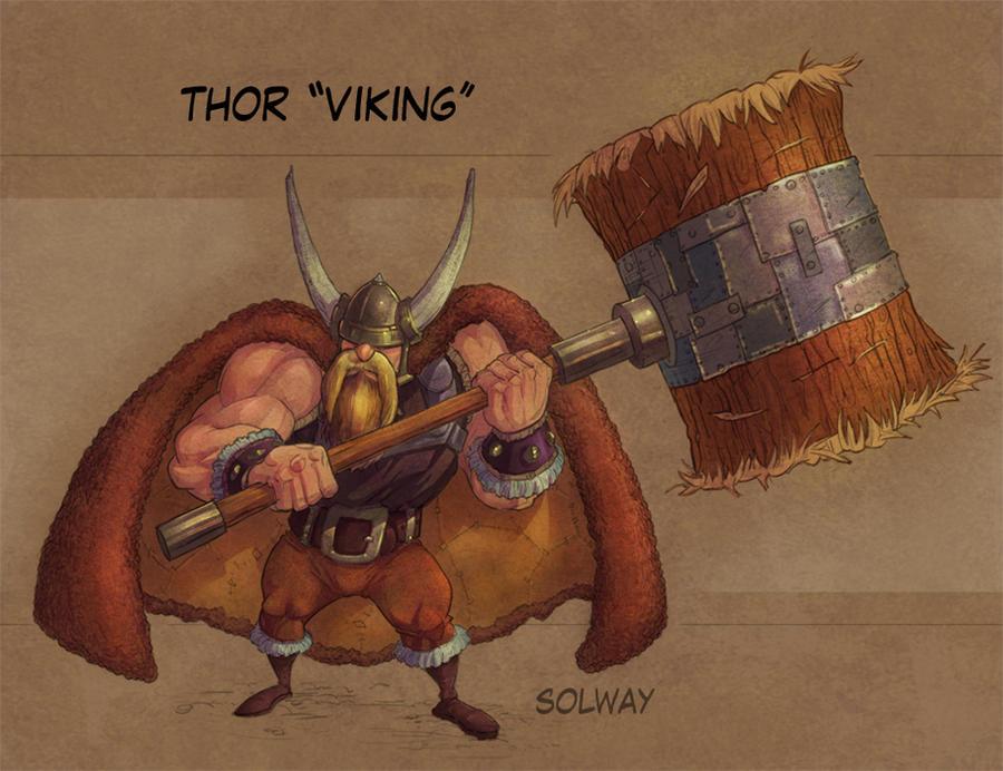 thor_viking_color by Kravenous