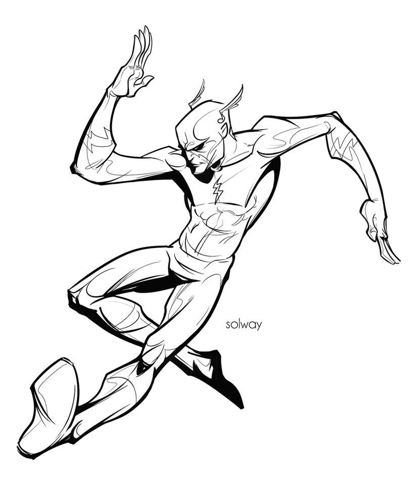 The Flash Line Art : Flash lines by kravenous on deviantart