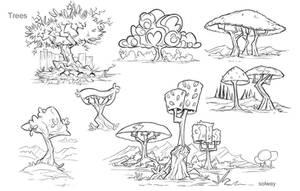 Tree concepts by Kravenous