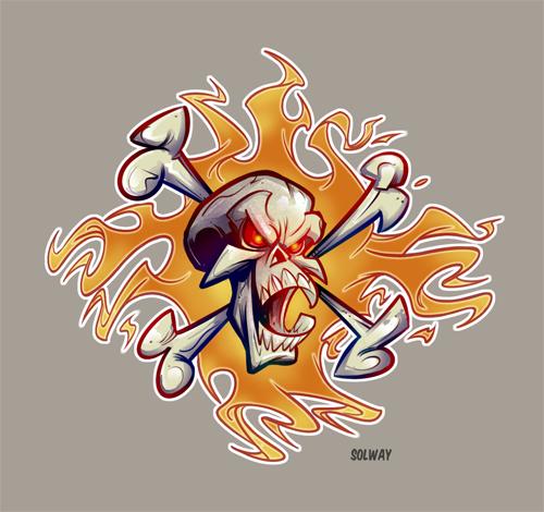 Skullcolor by Kravenous
