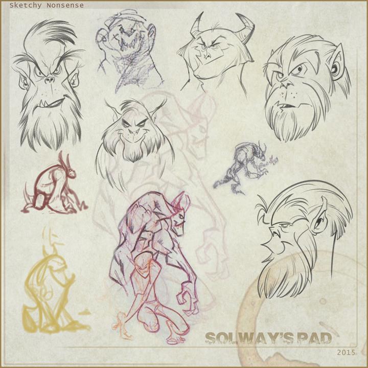 doodles by Kravenous