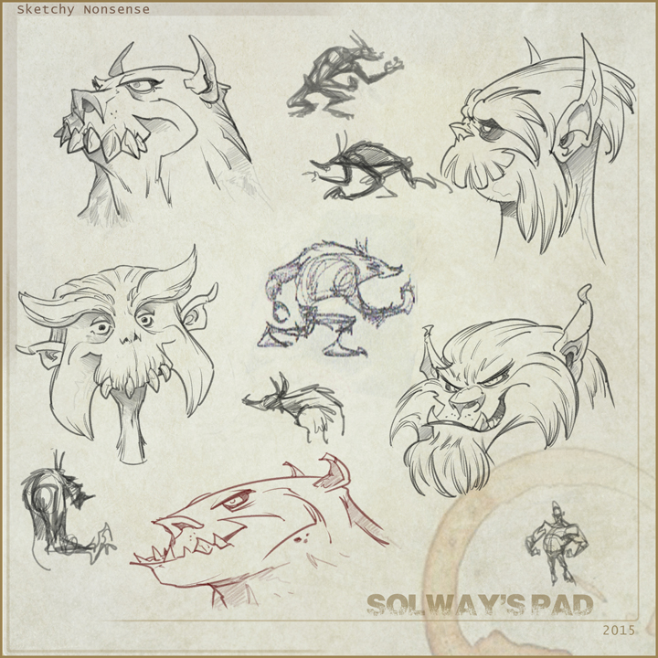 Doodles 003 by Kravenous