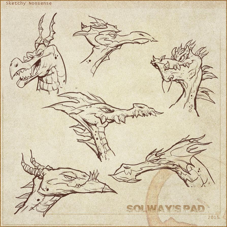 Dragons by Kravenous