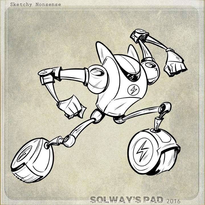 the Flash Robot by Kravenous