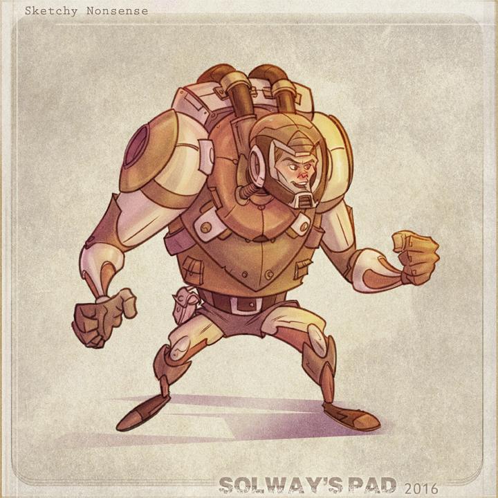 Spaceman by Kravenous