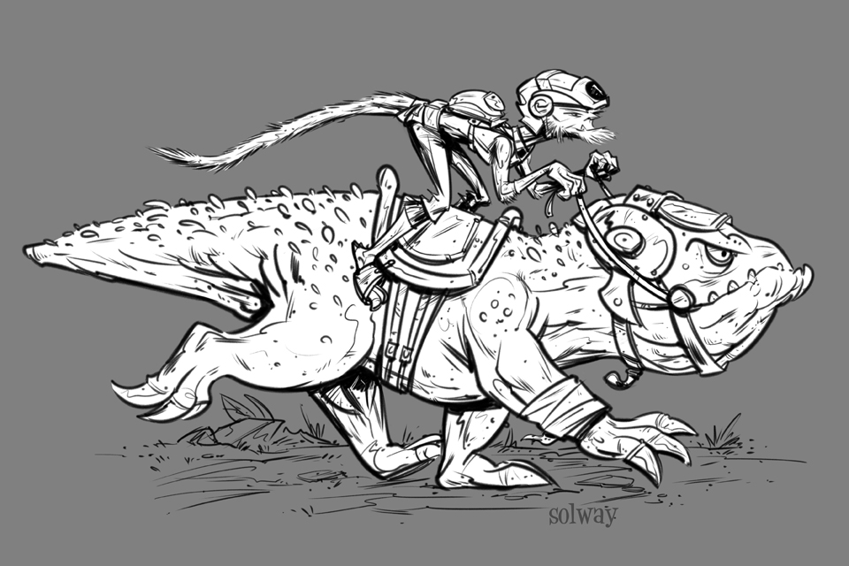 Rider by Kravenous