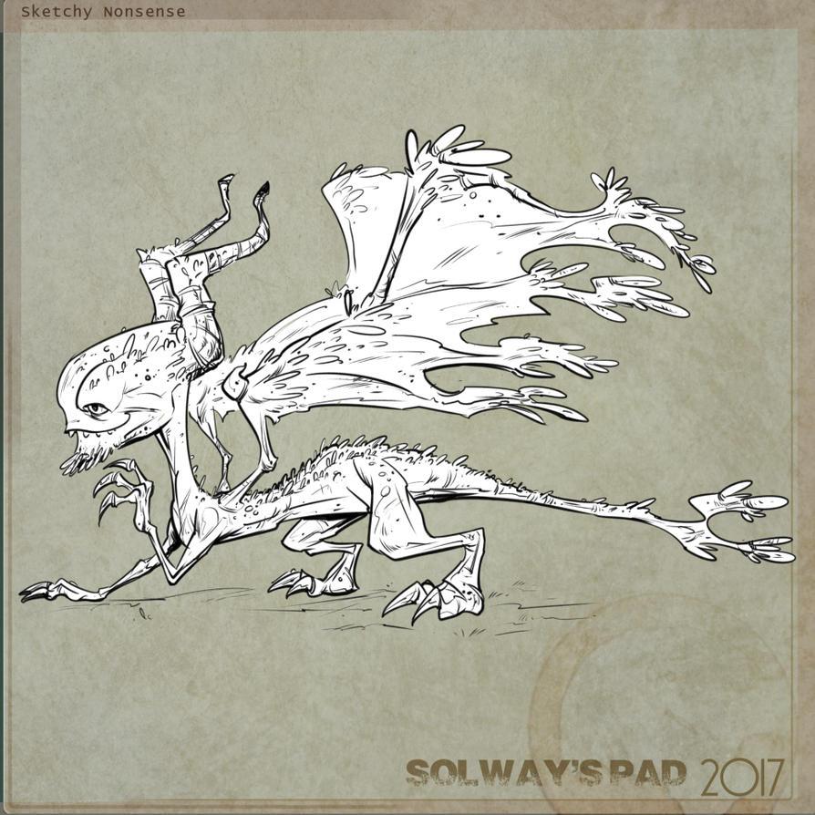 Dragon by Kravenous