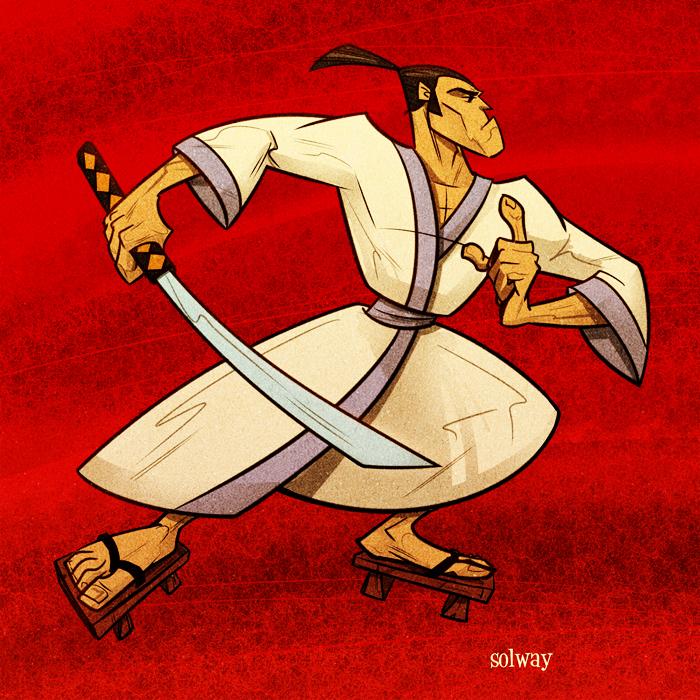 Samurai Jack by Kravenous
