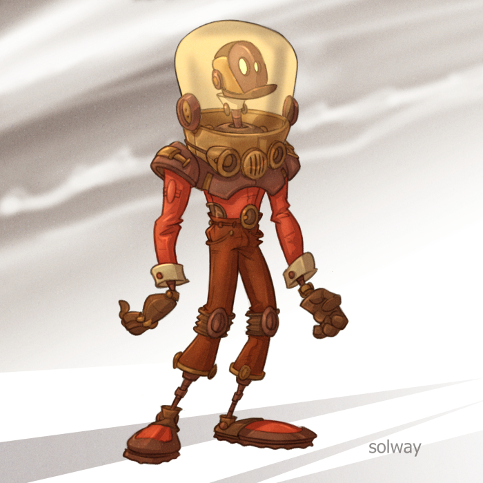 Robot8 Color by Kravenous